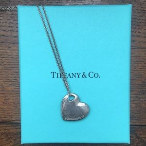 Sterling silver Tiffany Heart Necklace